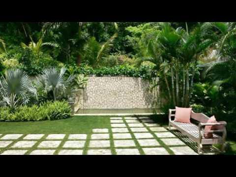 Inspirasi Taman Dalam Rumah Minimalis Desain Tropis