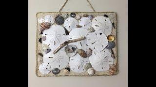 Making a Seashell Wall Hanging