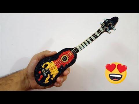 How to make a Paper Quilled Guitar | Quilling Guitar