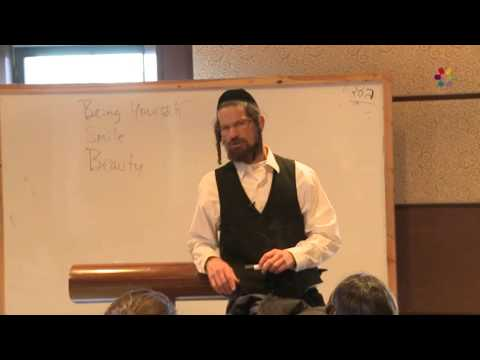 Rabbi Yom Tov Glaser - Jewish Thought: The Hidden Magic in Giving