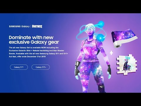 The New GALAXY SKIN In Fortnite (EXCLUSIVE)