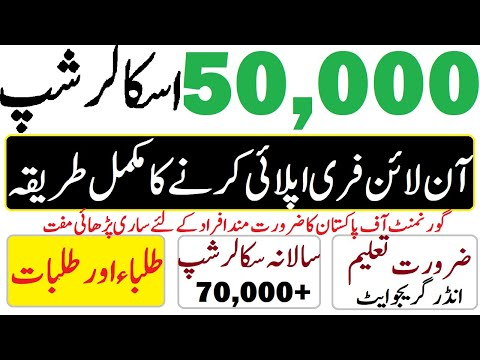 How to Apply Online in Ehsaas Scholarship Ehsaas Scholarship Program Scholarship Program Educativz