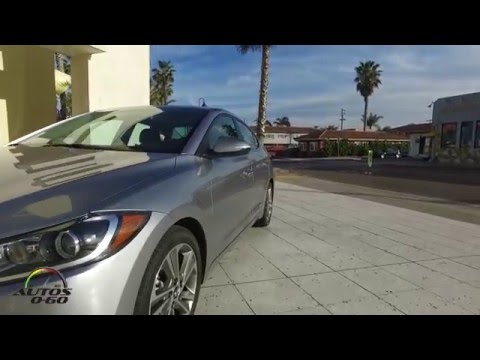 2017 Hyundai Elantra Limited, first look at Imperial Beach, California