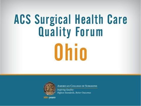 American College of Surgeons Inspiring Quality Forum Ohio