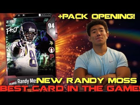 WE GET RANDY MOSS! BEST CARD IN MADDEN! Madden 18 Ultimate Team
