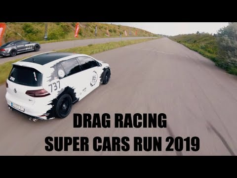 DRAG RACING ODESSA SUPER CARS RUN 2019
