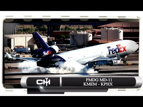 [FSX] PMDG MD-11 | FLIGHTS BY REQUEST | KMEM TO KPHX