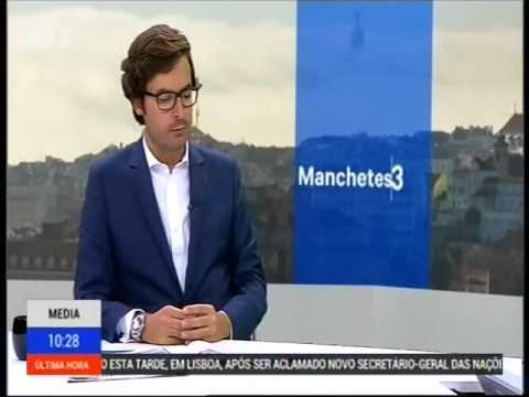 RTP 3 - Revista de Imprensa com Ricardo Carvalho