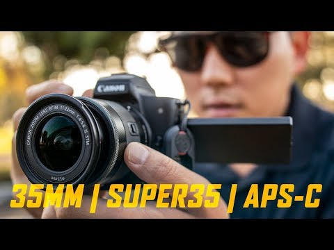 Why I don\'t shoot on Full Frame Cameras... yet | Crop Factors