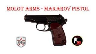 [ОБЗОР] Молот Армз - Охолощенный пистолет Макарова ПМ-СХП