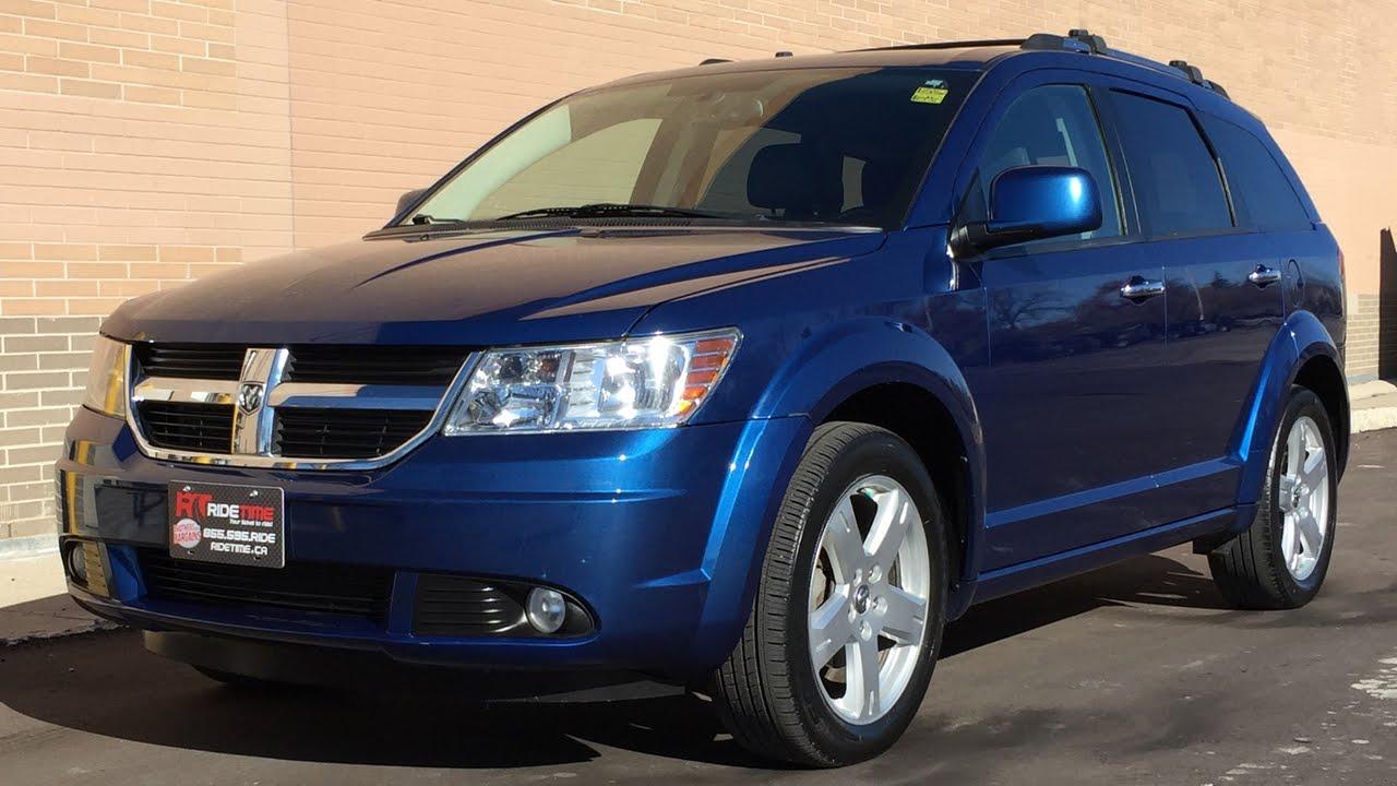2010 Dodge Journey R  T Awd - Leather Heated Seats  19in Alloy Wheels