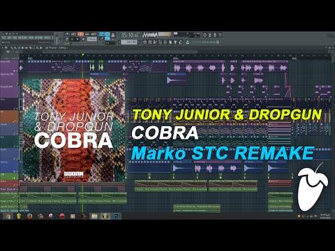 Tony Junior & Dropgun - Cobra (Original Mix) (FL Studio Remake + FLP)