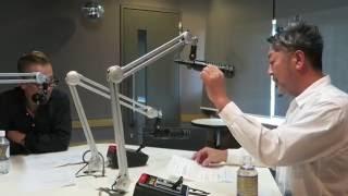 REDMOON後藤惠一郎 インターFM897REDMOON収録風景ゲスト ジャンゴエピデミックKAMEDA KATUYOSHIさん