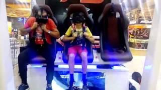 видео Аттракционы виртуальной реальности VR Mall