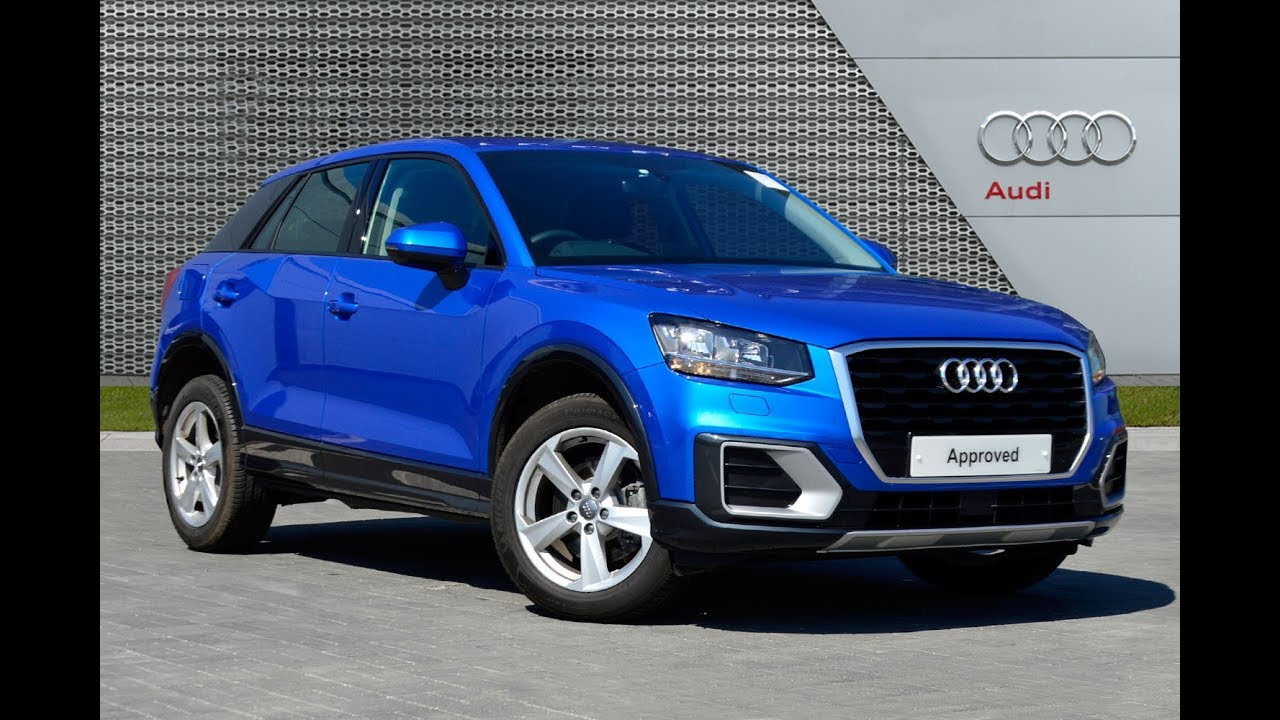 audi q2 tfsi sport blue 2018 youtube. Black Bedroom Furniture Sets. Home Design Ideas