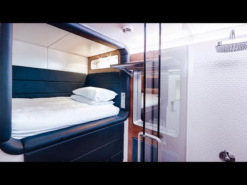 I Stayed In A Capsule Hotel In Amsterdam