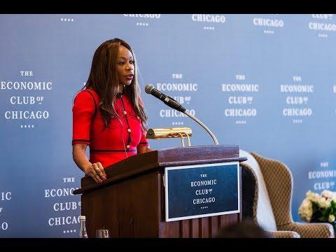 Dr. Dambisa Moyo, Global Economist & Author, 5/21/18