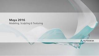 Обзор интерфейса Maya #5 \ Maya 2017 Essential Training