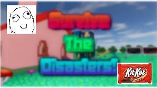 Sam und Karl spielen Roblox | Überlebe die Katastrophen!| Erstes Video