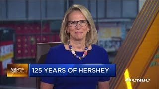 Hershey CEO on what's in the pipeline as the company celebrates its 125th anniversary