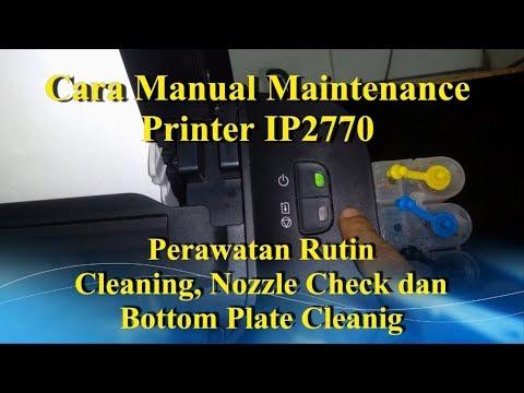 Menyedot tinta dari sistem bisa juga kita lakuan dari sini lo, Cara Mudah Cleaning Printer Di Window.