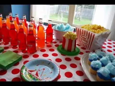 DIY Carnival theme party decorating ideas - YouTube