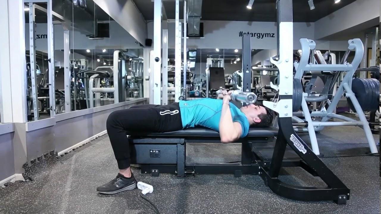 Hướng dẫn bài tập ngực hiệu quả nhất – P1 – Tập ngực giữa với thanh tạ đòn