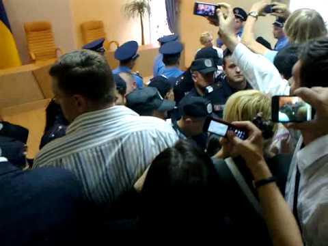 Арешт Юлії Тимошенко. Arrest of Yulia Tymoshenko