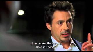 IRON MAN| Robert Downey Jr. Screentest Eng / Ger Sub