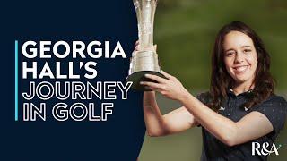 Georgia Hall's journey in golf