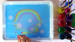 эбру урок радуга