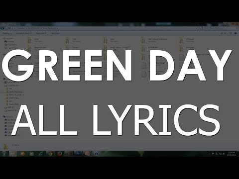 Green Day All Lyrics ( Download )