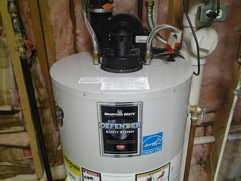 BRADFORD WHITE POWER VENT WATER HEATER REPAIRS & REPLACEMENT
