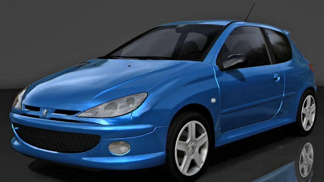 forza motorsport 2 peugeot 206 rc 2004 test drive. Black Bedroom Furniture Sets. Home Design Ideas