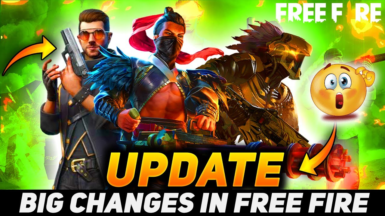 BIG CHANGES In Free Fire !!😲🔥 ( We DON'T NEED GUN SKINS Anymore ? ) - Gaming Aura