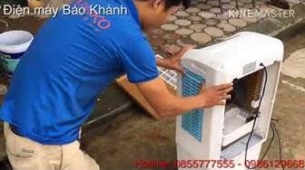 Hướng dẫn vệ sinh Quạt điều hòa tại nhà đơn giản và nhanh chóng   Điện máy Bảo Khánh