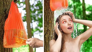 AMAZING OUTDOOR HACKS AND DIY VACATION TIPS || Beach Hacks For The Best Vacation by 123 GO!