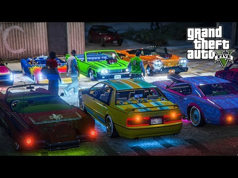 [LIVE270]LOWRIDER PARTY GTA5