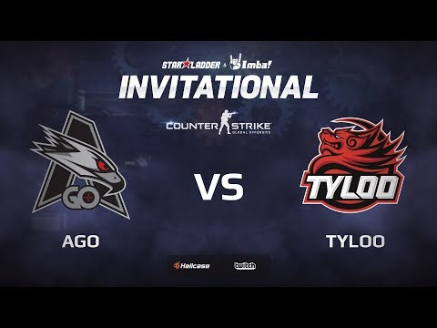 [EN] AGO vs TyLoo, map 1 cache, StarLadder ImbaTV Invitational Chongqing