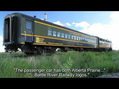 Andromeda Visits The Alberta Railway Museum