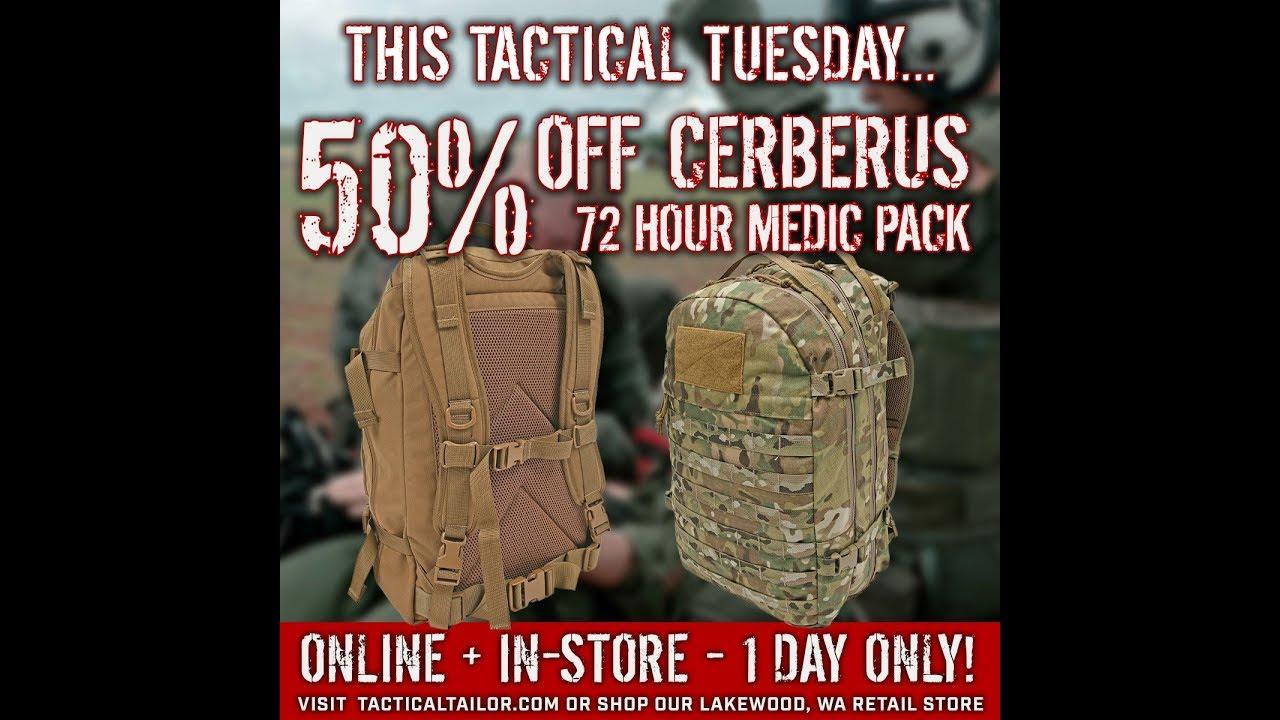 TT- Sale 50% Off Cerberus 72 Hour Medic Pack