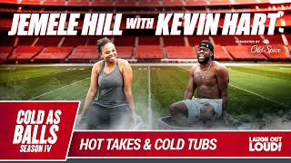 Jemele Hill Joins Kevin Hart And Tries To Change The Name Of The Show | Cold As Balls | LOL Network