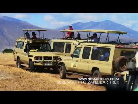 Serengeti to Zanzibar Trek | Nomad Adventure Tours