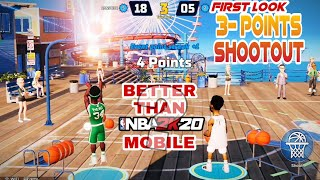 3 POINT CONTEST IN NBA 2K PLAYGROUNDS  MOBILE BETA