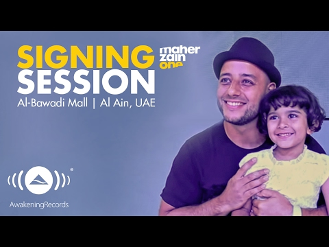 "Maher Zain - Album ""One"" Signing Session | Al-Bawadi Mall | Al Ain, UAE 2016"