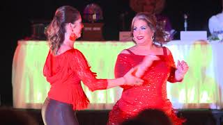 Dancing with the Docs 2019 - Dr. Kathy and Rebecca, Country Swing
