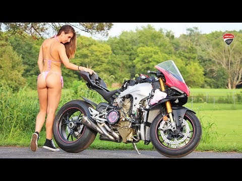 V4 Panigale With $3,000 Full Carbon Subframe!