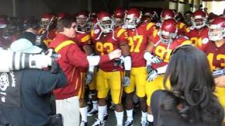 USC TROJANS ROSE BOWL 2009 PRE GAME