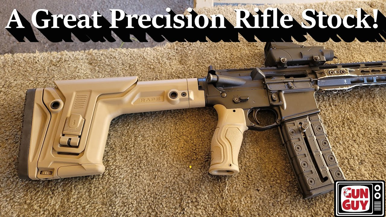 An Outstanding Precision AR15 Stock from FAB Defense