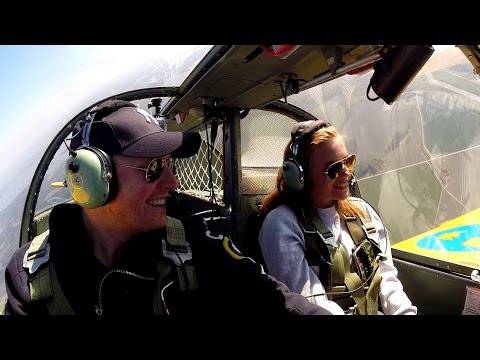 Moments of epic flight training